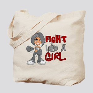 Fight Like a Girl 42.8 Diabetes Tote Bag