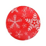 Red and White Snowflake Pattern 3.5