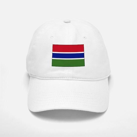 Gambia - National Flag - Current Baseball Baseball Baseball Cap