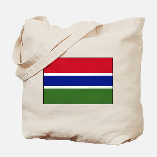 Gambia - National Flag - Current Tote Bag