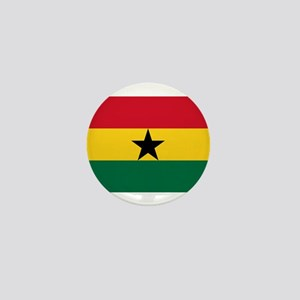 Ghana - National Flag - Current Mini Button