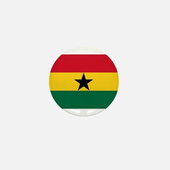 Ghana - National Flag - Current Mini Button