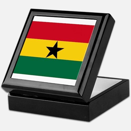 Ghana - National Flag - Current Keepsake Box