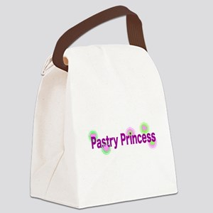 Pastry Princess Canvas Lunch Bag