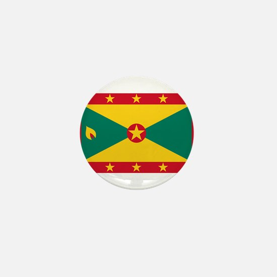 Grenada - National Flag - Current Mini Button