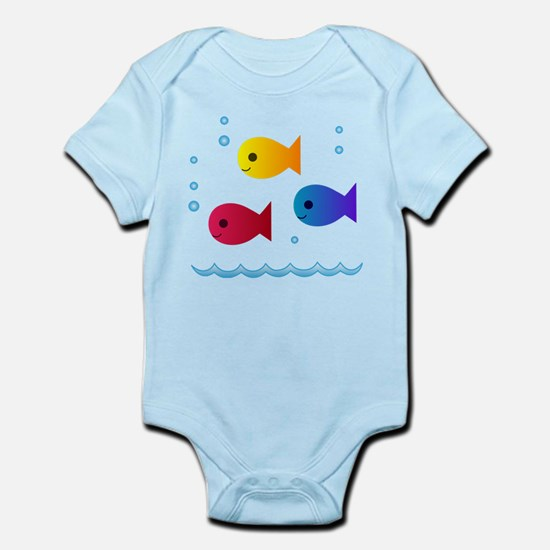 school of fish Infant Bodysuit
