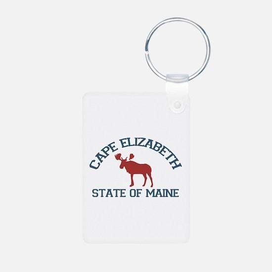 Cape Elizabeth ME - Moose Design. Aluminum Photo K