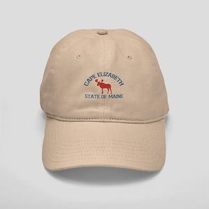 Cape Elizabeth ME - Moose Design. Cap
