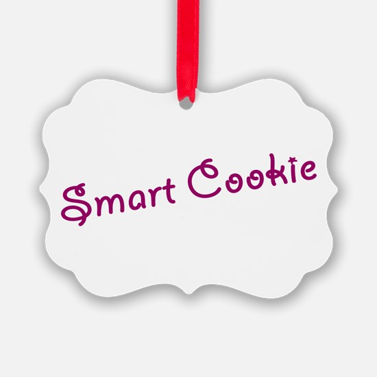 smart cookie Ornament