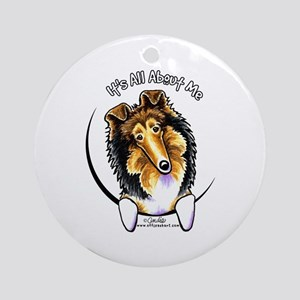Collie IAAM Ornament (Round)