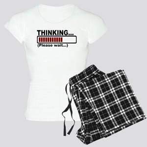 thinking,please wait Women's Light Pajamas