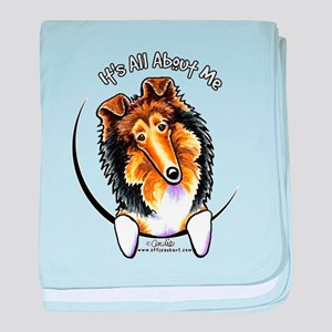 Collie IAAM baby blanket