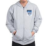 School Shield Zip Hoodie