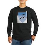 School Shield Long Sleeve Dark T-Shirt