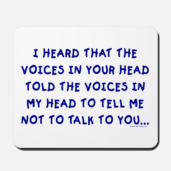Voices Mousepad