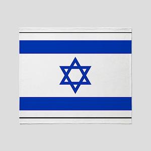 Israel - National Flag - Current Throw Blanket