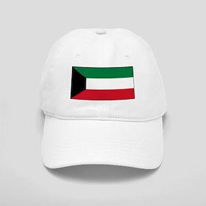 Kuwait - National Flag - Current Baseball Cap