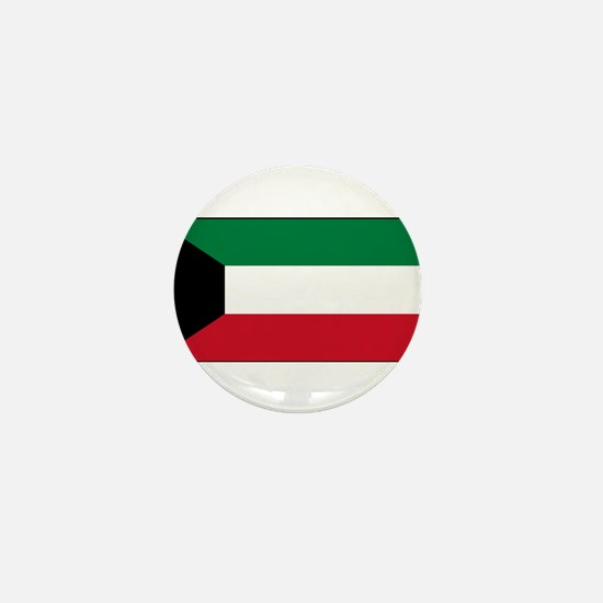 Kuwait - National Flag - Current Mini Button