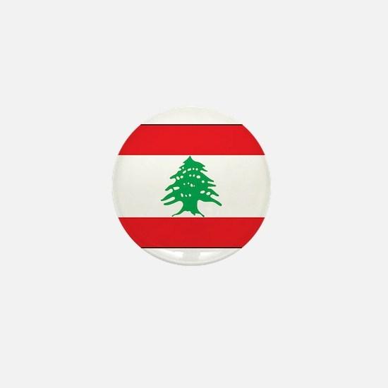 Lebanon - National Flag - Current Mini Button