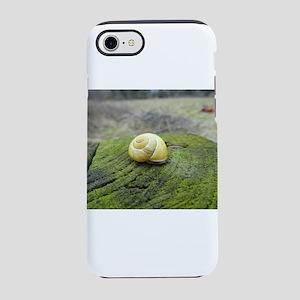 Yellow Snail Shell iPhone 7 Tough Case