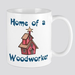 Home of a Woodworker Mug