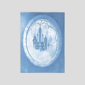 Dream Castle 5'x7'Area Rug
