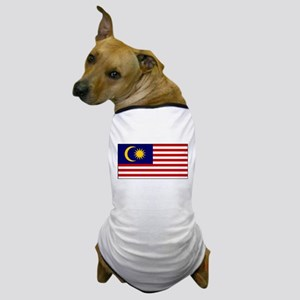 Malaysia - National Flag - Current Dog T-Shirt