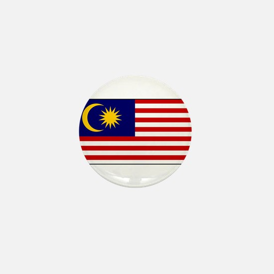 Malaysia - National Flag - Current Mini Button