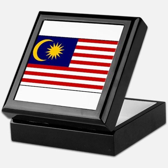 Malaysia - National Flag - Current Keepsake Box