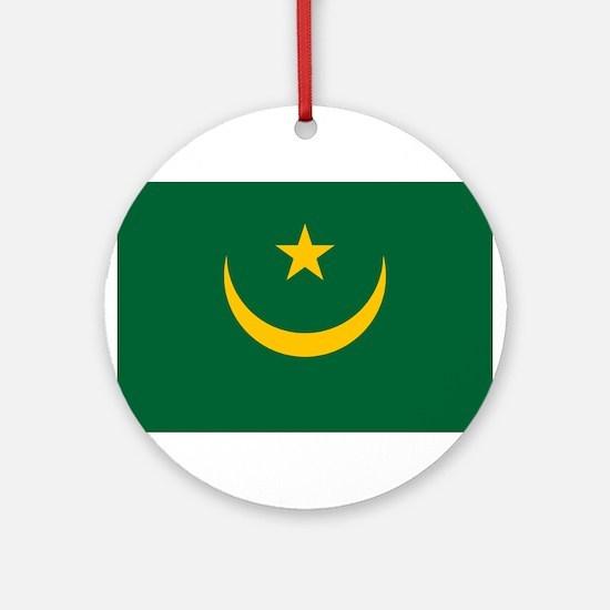Mauritania - National Flag - Current Round Ornamen