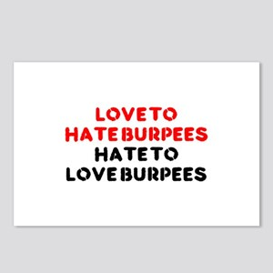 Love to Hate Em Postcards (Package of 8)