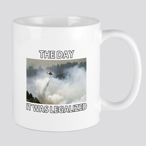 The Day it was Legalized Mug