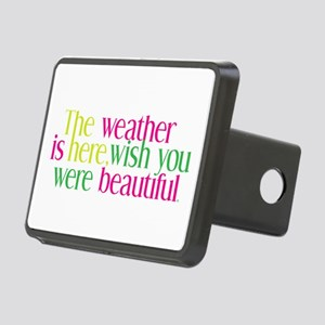 The Weather Rectangular Hitch Cover