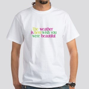 The Weather White T-Shirt