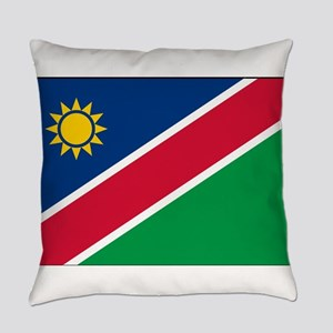 Namibia - National Flag - Current Everyday Pillow