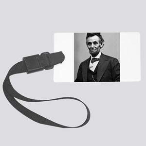 Abraham Lincoln Large Luggage Tag