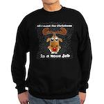 Reindeer Christmas Sweatshirt (dark)