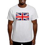 Great Britain British Flag Ash Grey T-Shirt