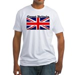 Great Britain British Flag Fitted T-Shirt