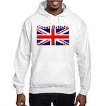 Great Britain British Flag Hooded Sweatshirt