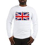 Great Britain British Flag Long Sleeve T-Shirt