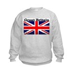 Great Britain British Flag Kids Sweatshirt