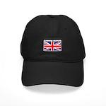 Great Britain British Flag Black Cap