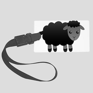black sheep Large Luggage Tag