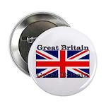 Great Britain British Flag Button