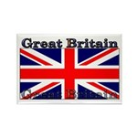 Great Britain British Flag Rectangle Magnet (10 pa