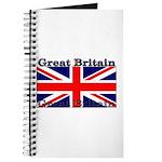 Great Britain British Flag Journal