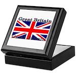 Great Britain British Flag Keepsake Box