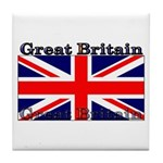 Great Britain British Flag Tile Coaster