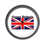 Great Britain British Flag Wall Clock